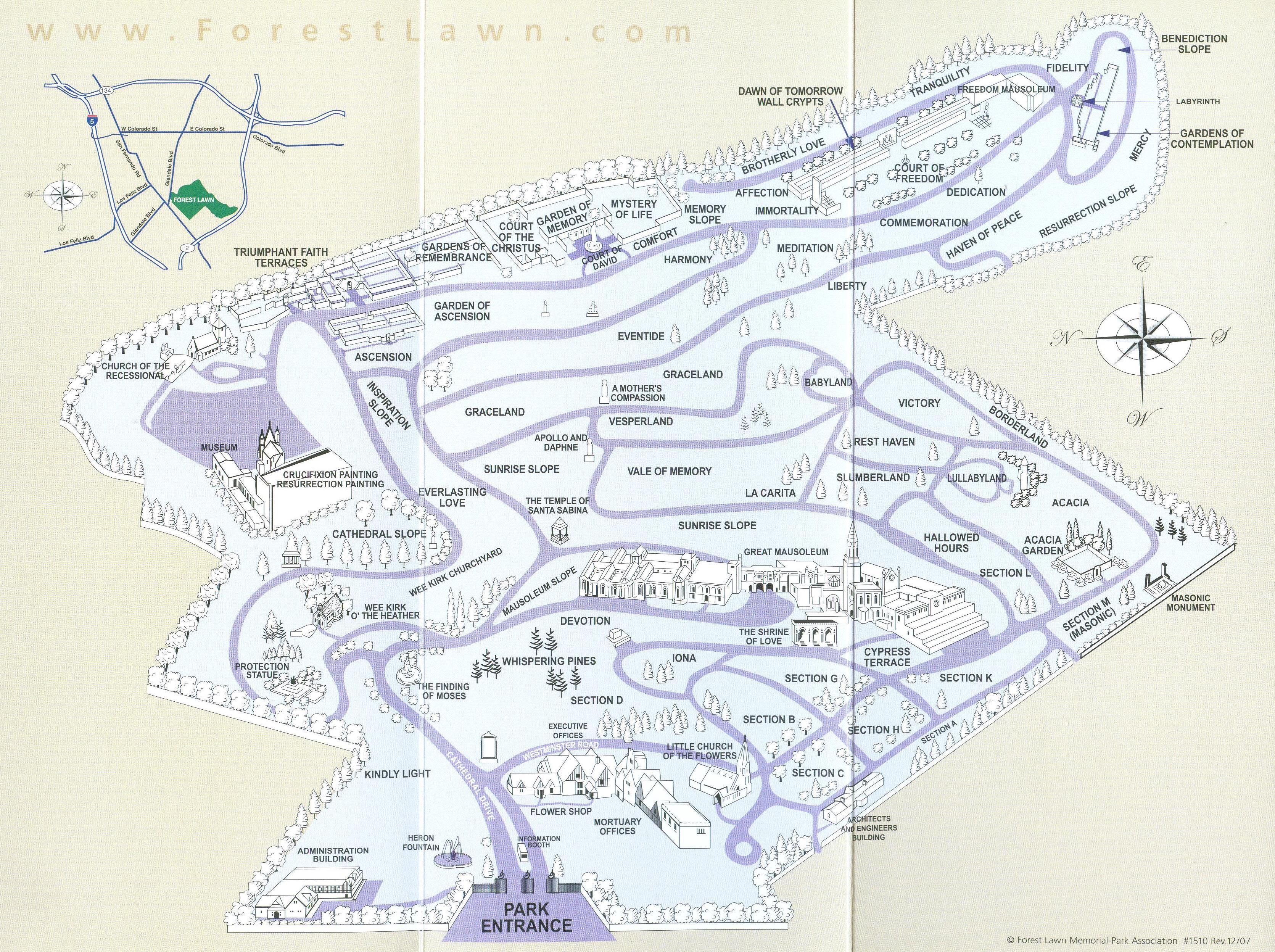 Cemetery Maps