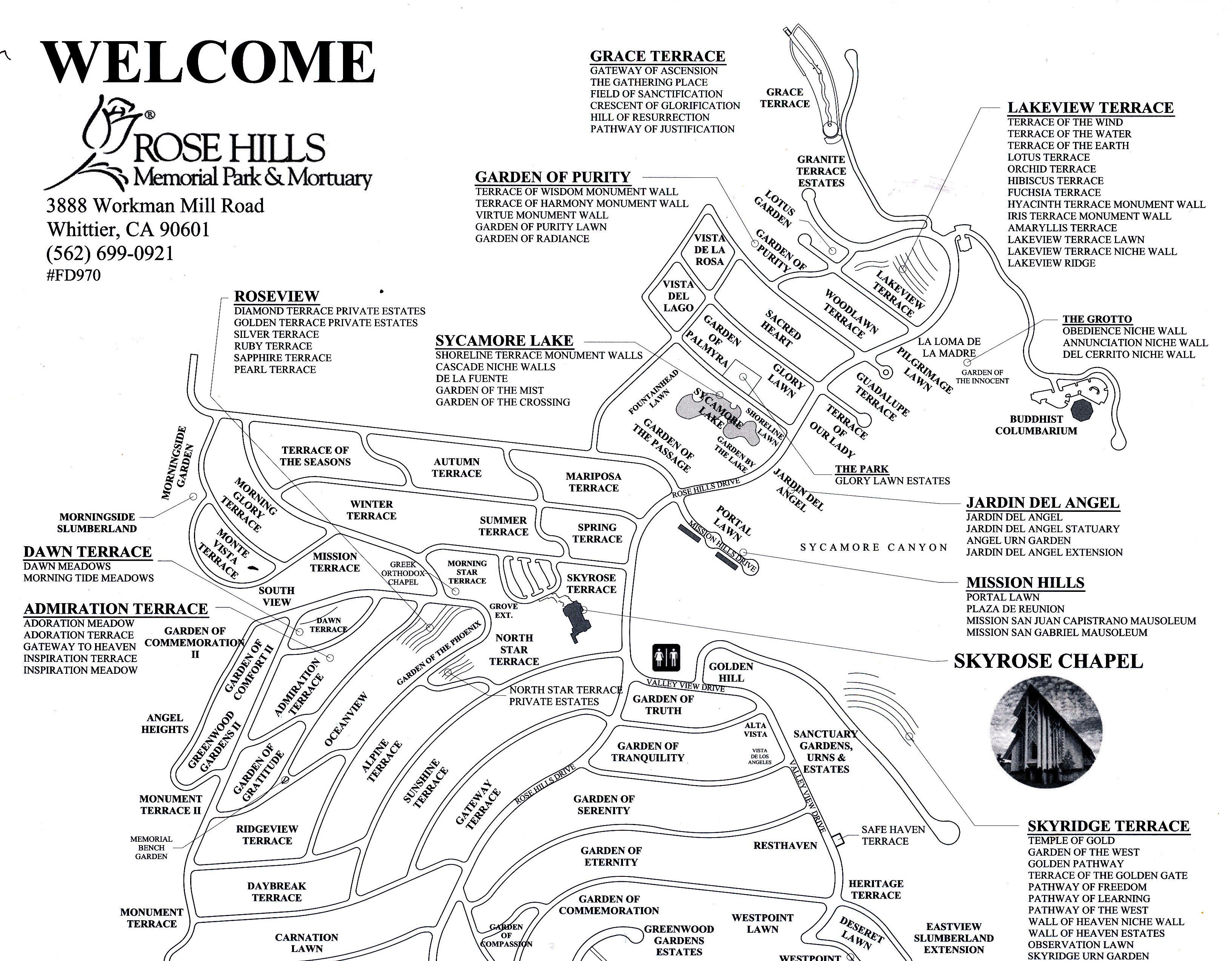 Rose Hills Map Exodoinvest